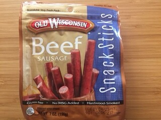 Old Wisconsin Beef Sticks Sausage, 7 oz.