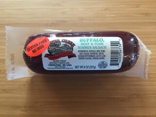 Buffalo Summer Sausage,  8 oz.