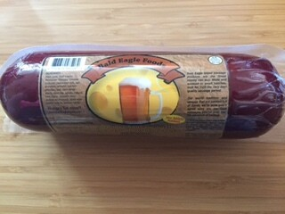 Beer n Cheese Summer Sausage, 14 oz.
