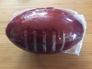 Football Shaped Summer Sausage, 16 oz.