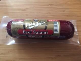 Sausage - Usinger Beef Salami, 12 oz.