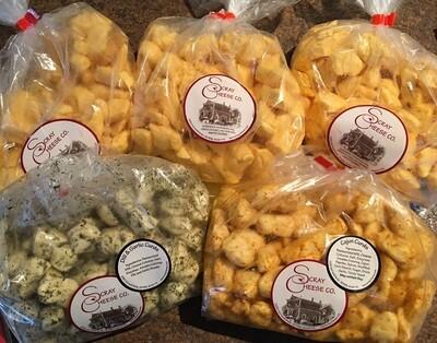 Cheese Curd Sampler- Online