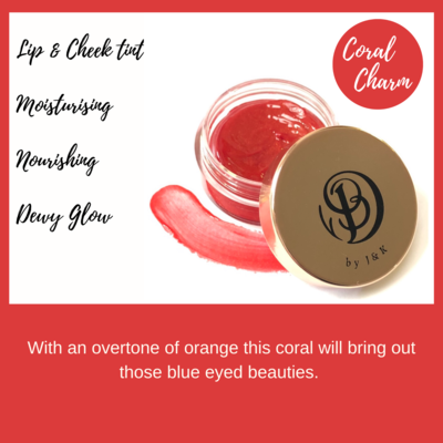 Coral Charm 10ml Lip & Cheek Tint