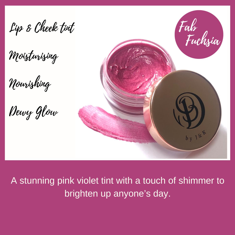 Fab Fuschia 10ml Lip & Cheek Tint