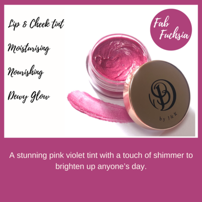 Fab Fuschia 10ml Lip & Cheek Tint
