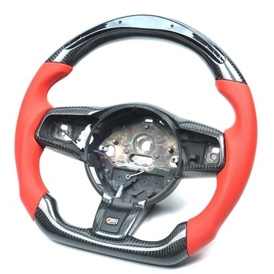 Custom Jaguar F-Type Steering Wheel