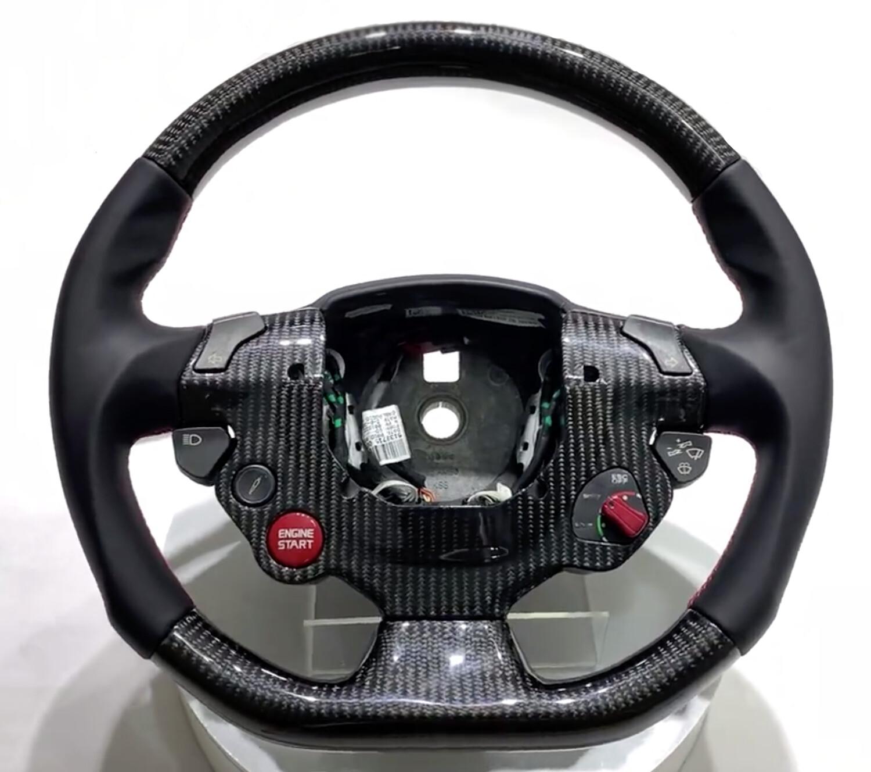 Custom Ferrari Steering Wheel