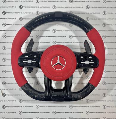 Custom Mercedes Benz AMG LED Steering Wheel
