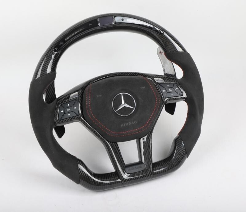 Custom Mercedes Benz W204 AMG Steering Wheel