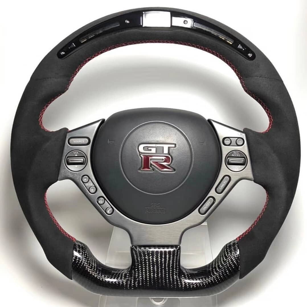 Custom Nissan GTR Steering Wheel
