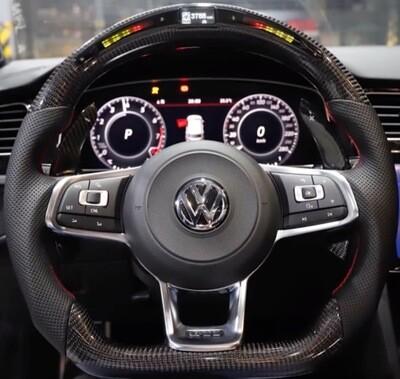 Custom Volkswagen Golf Steering Wheel
