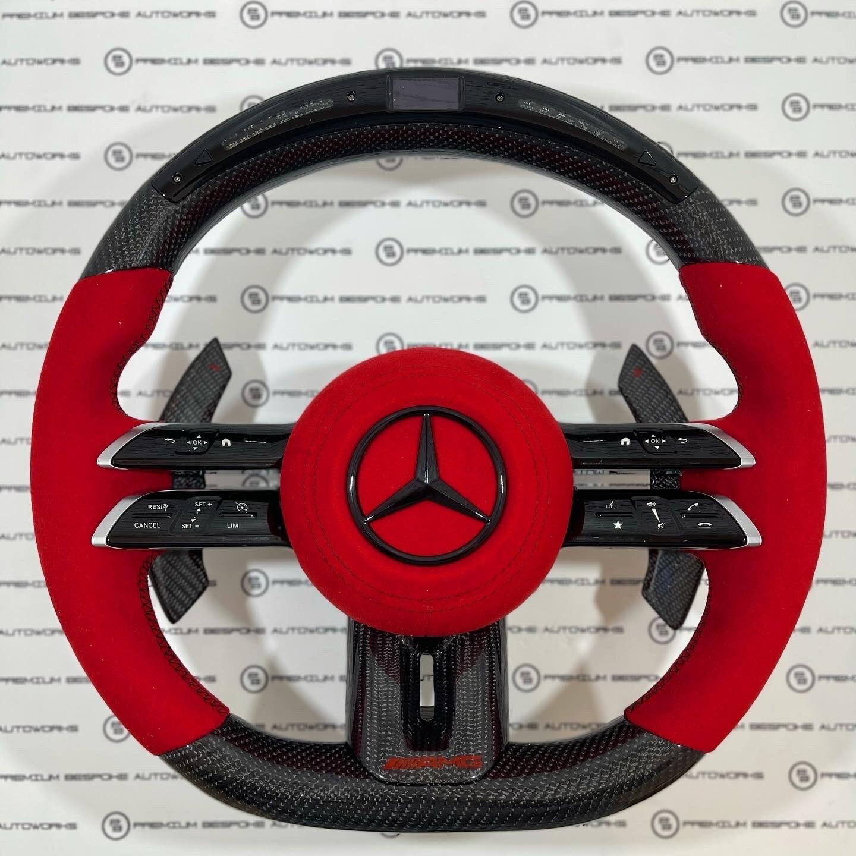 Custom 2021 Mercedes Benz AMG Steering Wheel
