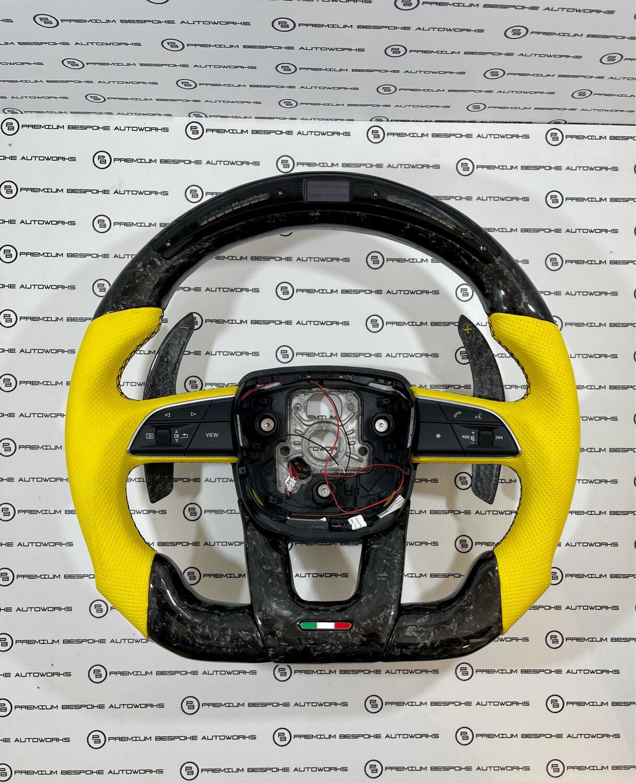 Custom Lamborghini Urus Steering Wheel