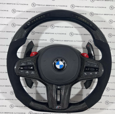Custom BMW LED Steering Wheel