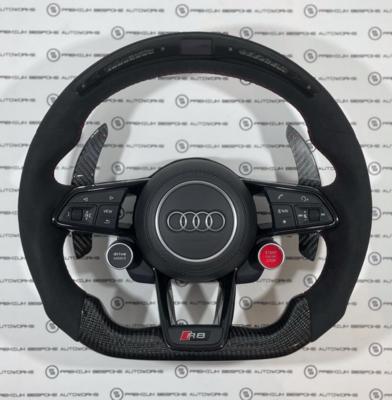 Custom Audi R8 Steering Wheel