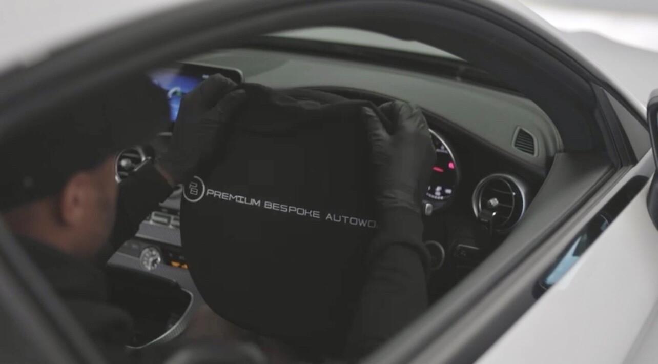 Steering Wheel Cover By Premium Bespoke AutoWorks