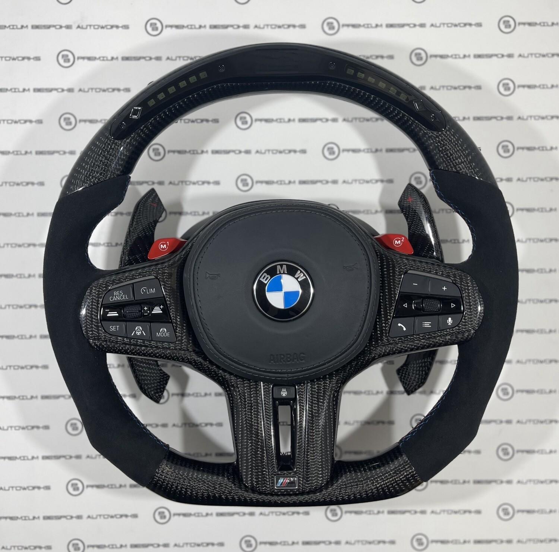 BMW G80 M3 G82 M4 Carbon Fibre LED Steering Wheel