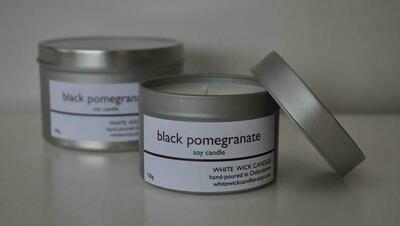 Black Pomegranate Soy Candle - 200g