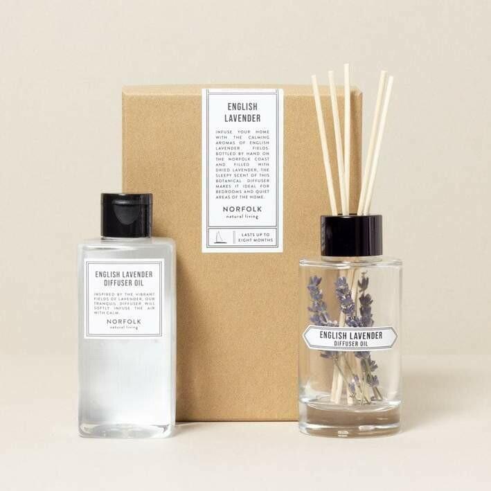 English Lavender Diffuser Oil Set - 200ml