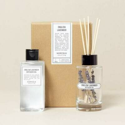 English Lavender Diffuser Oil Set - 200ml