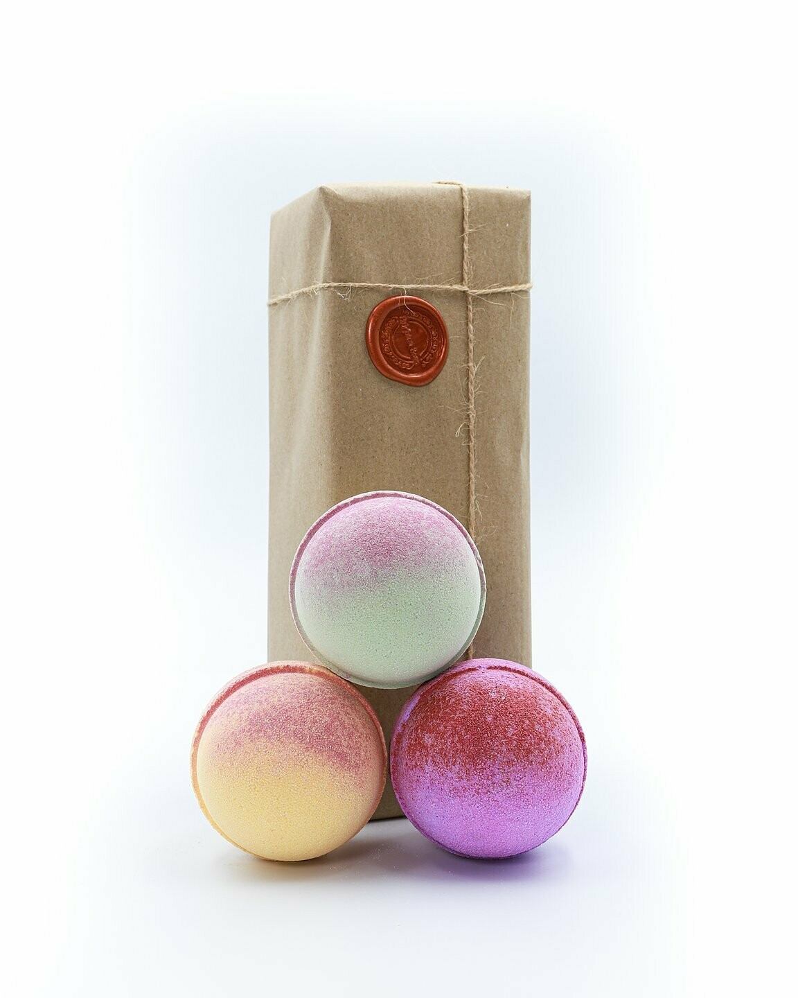 Cherry Apple, Pink Lemonade, Midnight Pomegranate Bath Bomb Gift Set