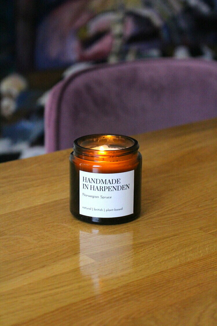 Norwegian Spruce One Wick Candle