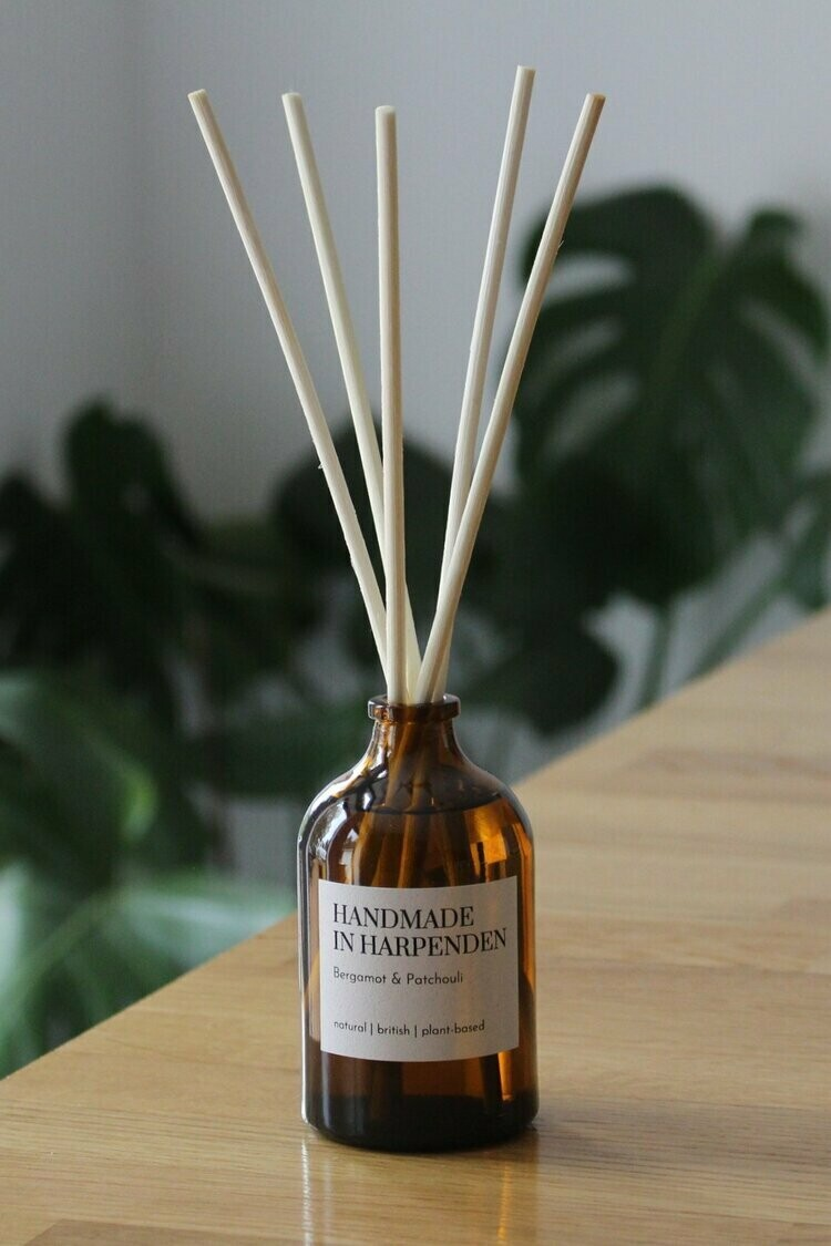 Bergamot and Patchouli Reed Diffuser