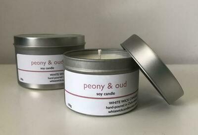 Peony & Oud Candle - 200g
