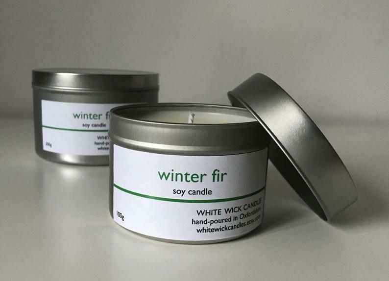 Winter Fir Candle - 100g