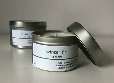 Winter Fir Candle - 100g