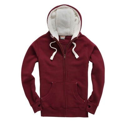 Sherpa Fleece Zipped Hoodie