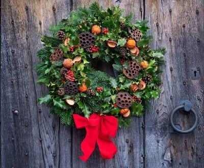 Large Luxury Christmas Door Wreath