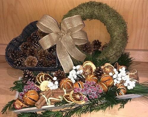 DIY Wreath Kit - Natural Style