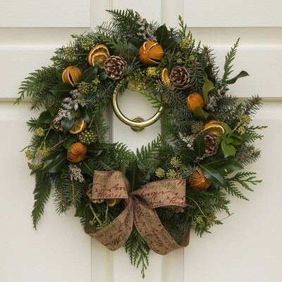 DIY Christmas Wreath Kit - Natural Style