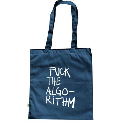 FUCK THE ALGORITHM — Tote bag