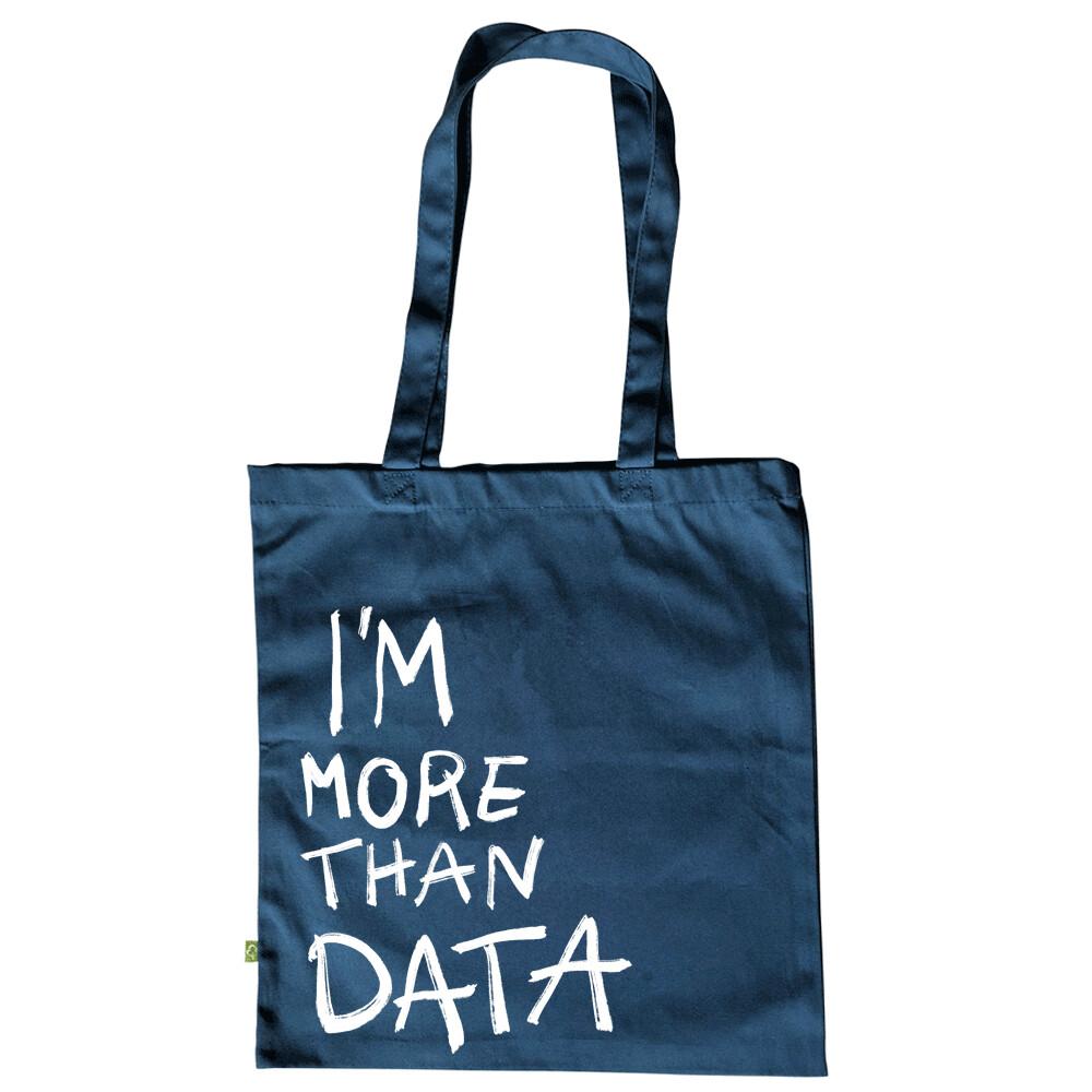 I'M MORE THAN DATA — Tote bag