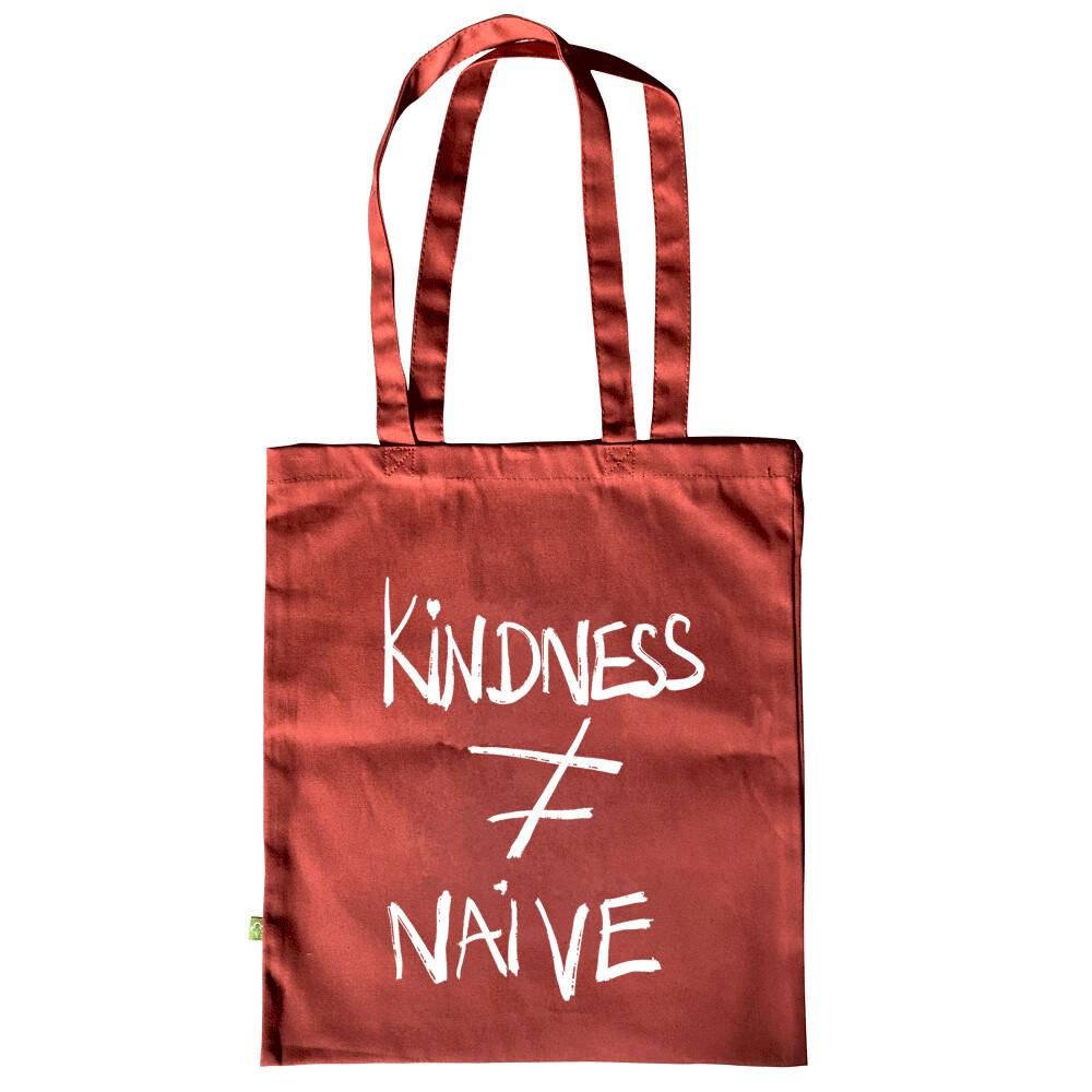 KINDNESS ≠ NAIVE — Tote bag