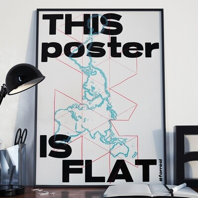 THIS POSTER IS FLAT