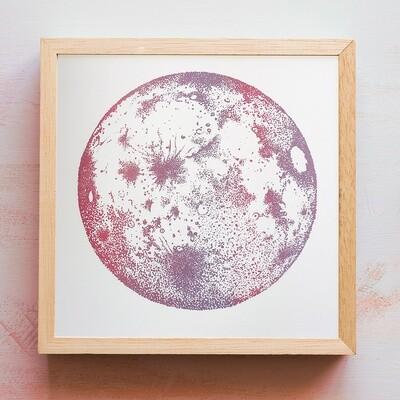 Full Moon — Mauve
