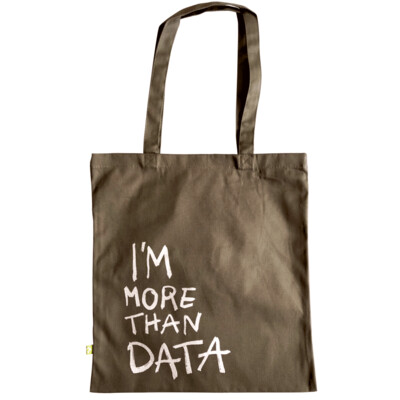 I'M MORE THAN DATA — Tote bag