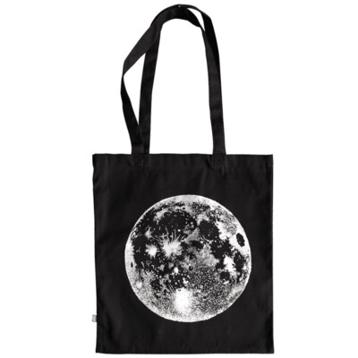 SILVER MOON — Tote bag