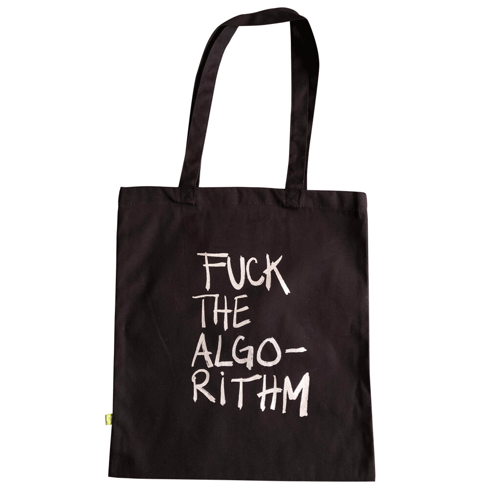 FUCK THE ALGORITHM — Tote bag