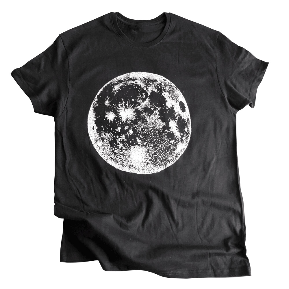 SILVER MOON  — T-shirt taille L