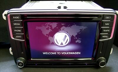 Reparatur VW Discover Media - Touchscreen defekt oder Tasten reagieren falsch