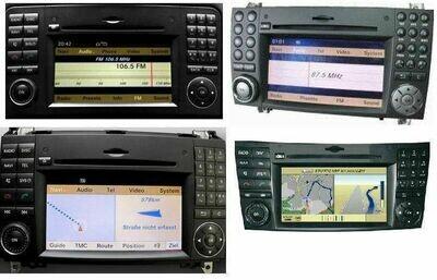 Reparatur Mercedes COMAND APS NTG 2.5 Navigation lässt sich nicht aktivieren