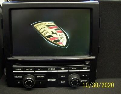 Reparatur Porsche PCM 3 und PCM 3.1 - Navigation nicht verfügbar / startet neu
