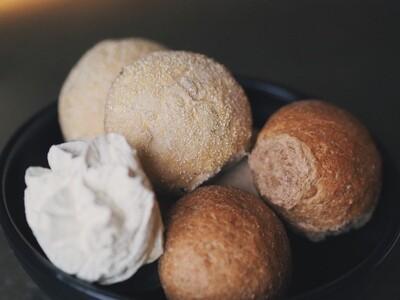 Drie soorten brood (2 pers.)