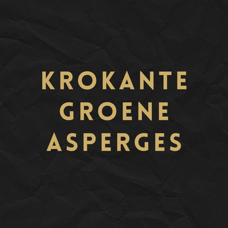 Krokante Groene Asperges