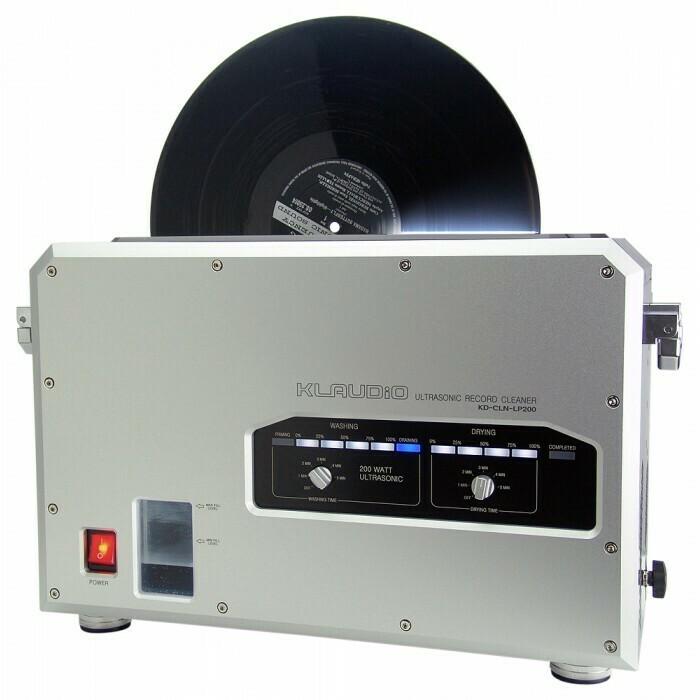 Klaudio KD-CLN-LP200 laveuse vinyles à ultrasons