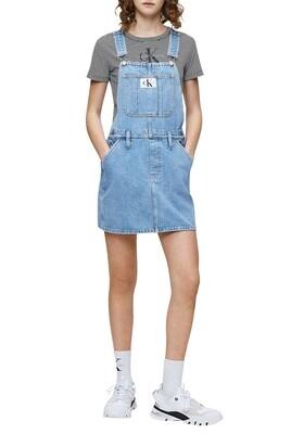 Robe salopette en jean - Calvin klein.